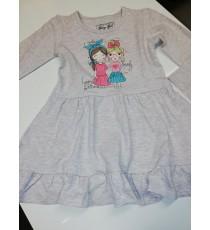 Tüdrukute puuvillane kleit